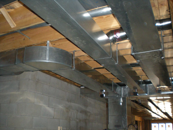 Thompson Heating And Cooling Duct Work Residential